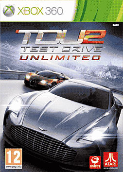 Test Drive Unlimited 2 Xbox 360 Cover Art