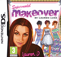 Supermodel Makeover By Lauren Luke DSi and DS Lite Cover Art