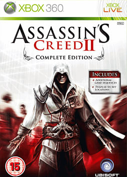 Assassin's Creed 2: Game Of The Year Edition Xbox 360 Cover Art