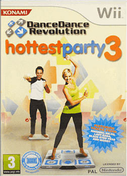 Dance Dance Revolution - Hottest Party 3 Wii Cover Art