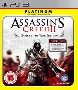 Assassin's Creed 2: Game Of The Year Edition PlayStation 3 Cover Art