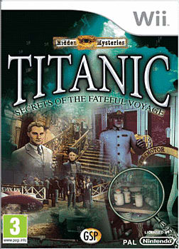 Hidden Mysteries: Titanic Wii Cover Art