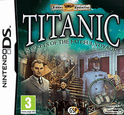 Hidden Mysteries: Titanic DSi and DS Lite Cover Art