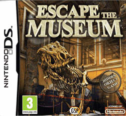 Escape the Museum DSi and DS Lite Cover Art