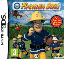 Fireman Sam DSi and DS Lite Cover Art