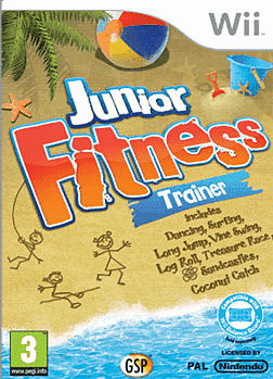 Junior Fitness Trainer Wii Cover Art