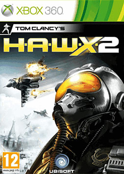 Tom Clancy's HAWX 2 Xbox 360 Cover Art