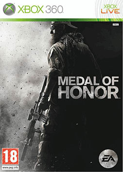 Medal of Honor Xbox 360 Cover Art