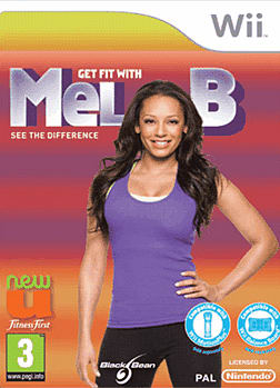 Totally Fit Mel B Wii Cover Art