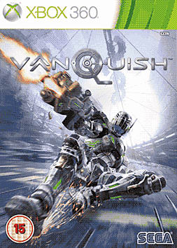 Vanquish Steelbook Edition Xbox 360 Cover Art
