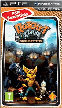 Ratchet & Clank: Size Matters (PSP Essentials) PSP Cover Art