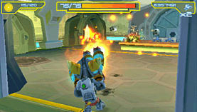 Ratchet & Clank: Size Matters (PSP Essentials) screen shot 1