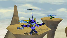 Ratchet & Clank: Size Matters (PSP Essentials) screen shot 2