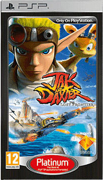 Jak & Daxter : The Lost Frontier Platinum PSP Cover Art