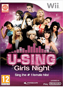 U-Sing: Girls Night (Software Only) Wii Cover Art