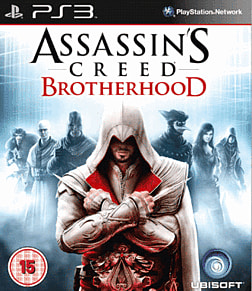Assassin's Creed: Brotherhood PlayStation 3 Cover Art