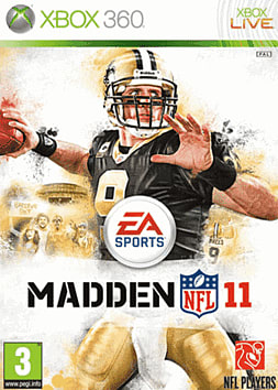 Madden NFL 11 Xbox 360 Cover Art