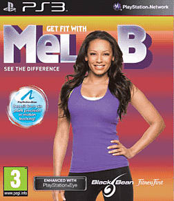 Totally Fit Mel B (Move compatible) PlayStation 3 Cover Art