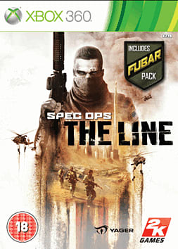 Spec Ops: The Line with FUBAR Pack Xbox 360 Cover Art