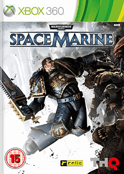 Warhammer 40K Space Marine Xbox 360 Cover Art