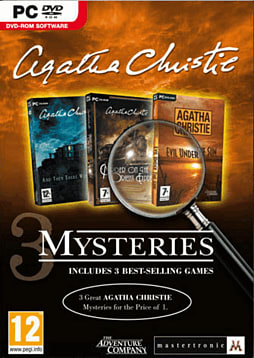 Agatha Christie Triple Pack PC Games and Downloads Cover Art