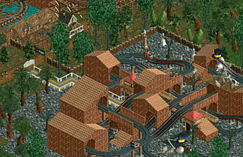 Rollercoaster Tycoon 2 Deluxe screen shot 1