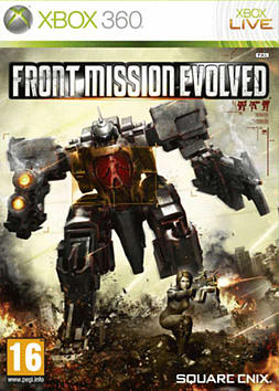 Front Mission Evolved Xbox 360 Cover Art