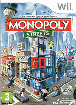 Monopoly Streets Wii Cover Art