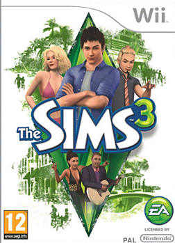 The Sims 3 Wii Cover Art