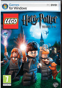 LEGO Harry Potter: Years 1-4 (including Harry Potter and the Philosopher's Stone DVD) PC Games and Downloads Cover Art
