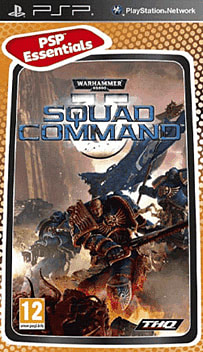 Warhammer 40k Squad Commander Essentials PSP Cover Art