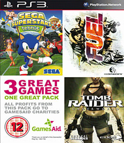Games Aid Triple Pack PlayStation 3 Cover Art
