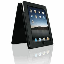 iPad Leather Flip Case - Black Electronics