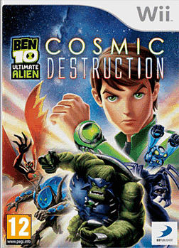 Ben 10 Ultimate Alien: Cosmic Destruction Wii Cover Art