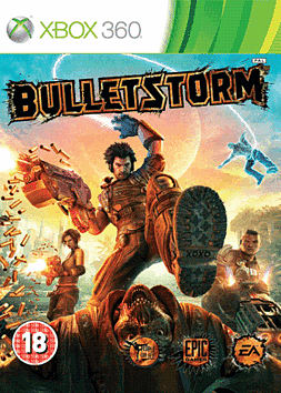 Bulletstorm Xbox 360 Cover Art