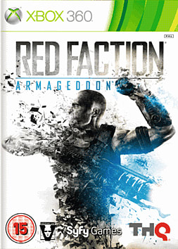 Red Faction: Armageddon Xbox 360 Cover Art