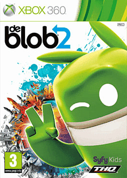 deBlob 2: Underground Xbox 360 Cover Art