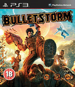 Bulletstorm PlayStation 3 Cover Art