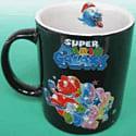 Mario Galaxy Mug Rainbow Clothing and Merchandise
