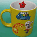 Mario Galaxy Mug Fireball Clothing and Merchandise