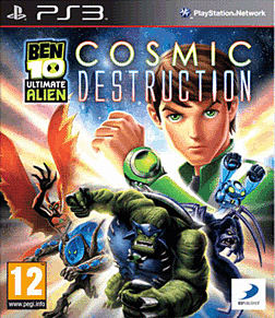 Ben 10 Ultimate Alien Cosmic Destruction PS3 遊戲