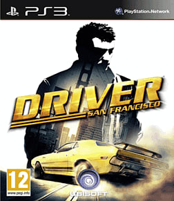 Driver San Francisco PlayStation 3 Cover Art