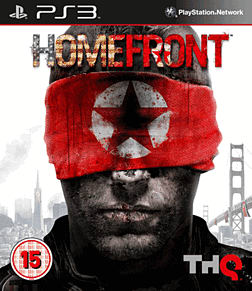 Homefront PlayStation 3 Cover Art