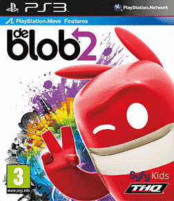 deBlob 2: Underground PlayStation 3 Cover Art