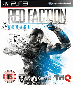 Red Faction: Armageddon PlayStation 3 Cover Art