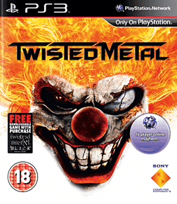 Twisted Metal PlayStation 3 Cover Art