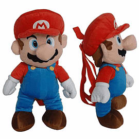 Super Mario Plush Backpack: Mario Clothing and Merchandise