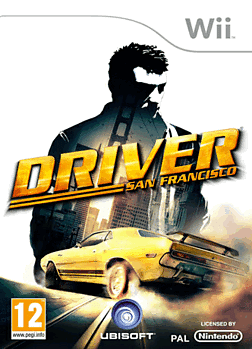 Driver San Francisco Wii Cover Art