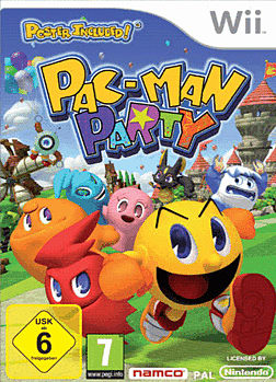 Pacman Party Wii Cover Art