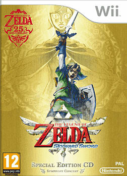 The Legend of Zelda: Skyward Sword Wii Cover Art